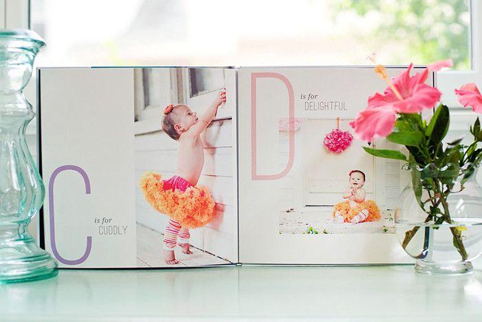 Album Templates: Children's ABC Book | Photoshop