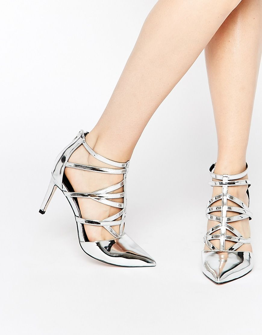 040f85675b3 Image 1 of ASOS SYNC Caged Heels