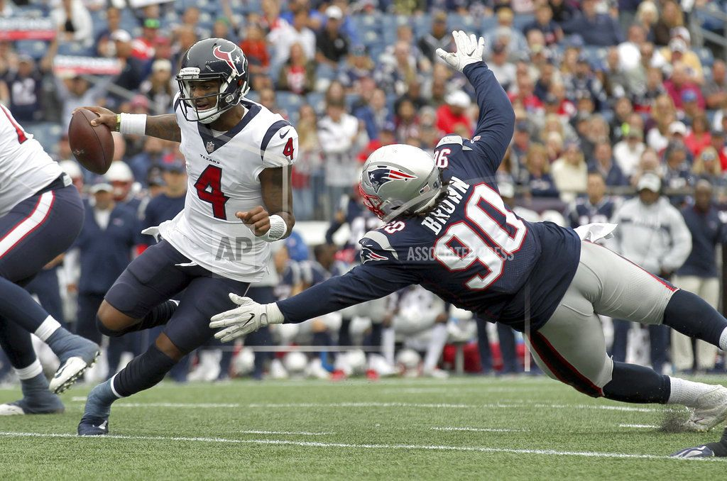 FOXBOROUGH, Mass. — Tyrann Mathieu intercepted reigning
