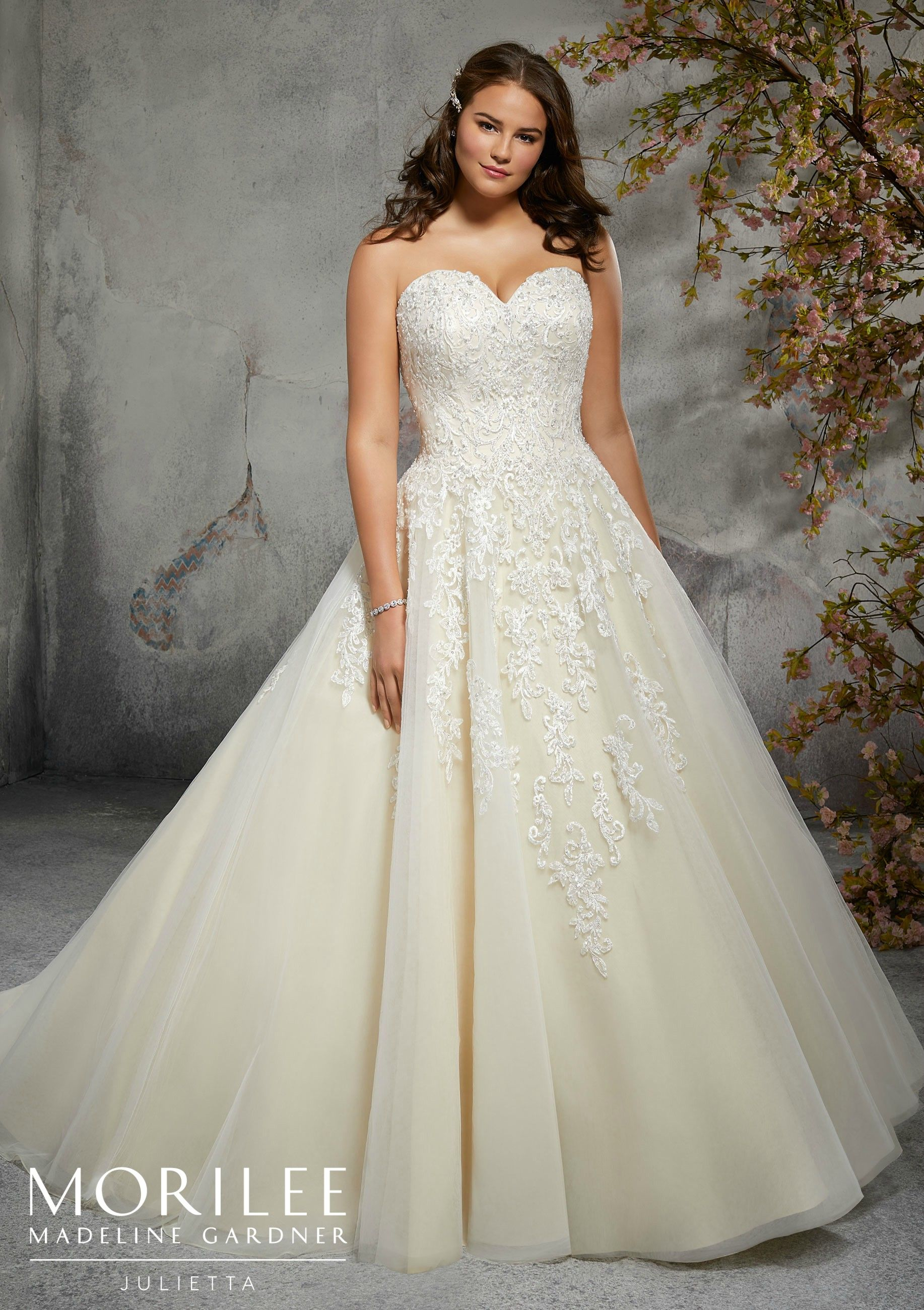 Mori lee madeline gardner wedding dress  Morilee  Madeline Gardner Lizbeth Style   Figure Flattering A