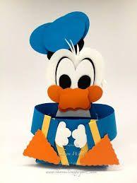 Resultado De Imagem Para Donald Duck Papercraft