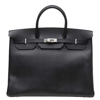 Sac Hermès Birkin 40cm Noir Pas Cher   outrouver   Hermes birkin ... 4e5c2f8a7c3
