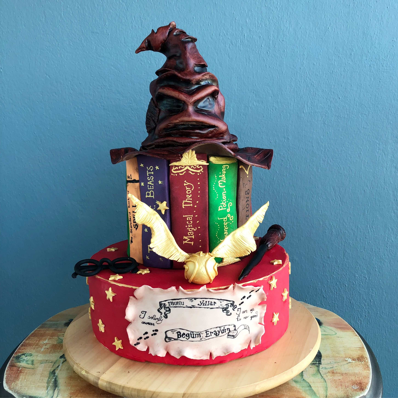Harry Potter Cake Harry Potter Birthday Cake Fondant Sugarpaste