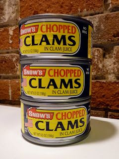 Rocket Lunch: What's in Your Pantry? -- Desperation Clam Sauce