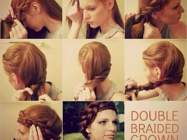 افضل تسريحات الشعر 2020 للاعراس سيدات مصر Hair Styles Double Braid Braids
