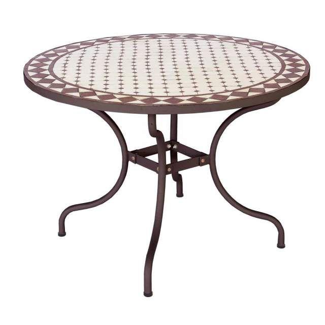 Tavolo da giardino in ferro e mosaico a Eur / Portuense ...