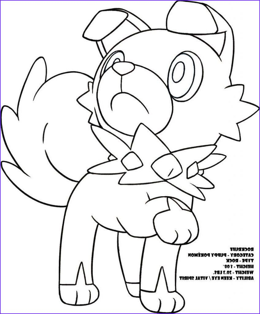 Pokemon Coloring Pages Rockruff Through The Thousands Of Pokemon Coloring Pages Pokemon Coloring Coloring Pages