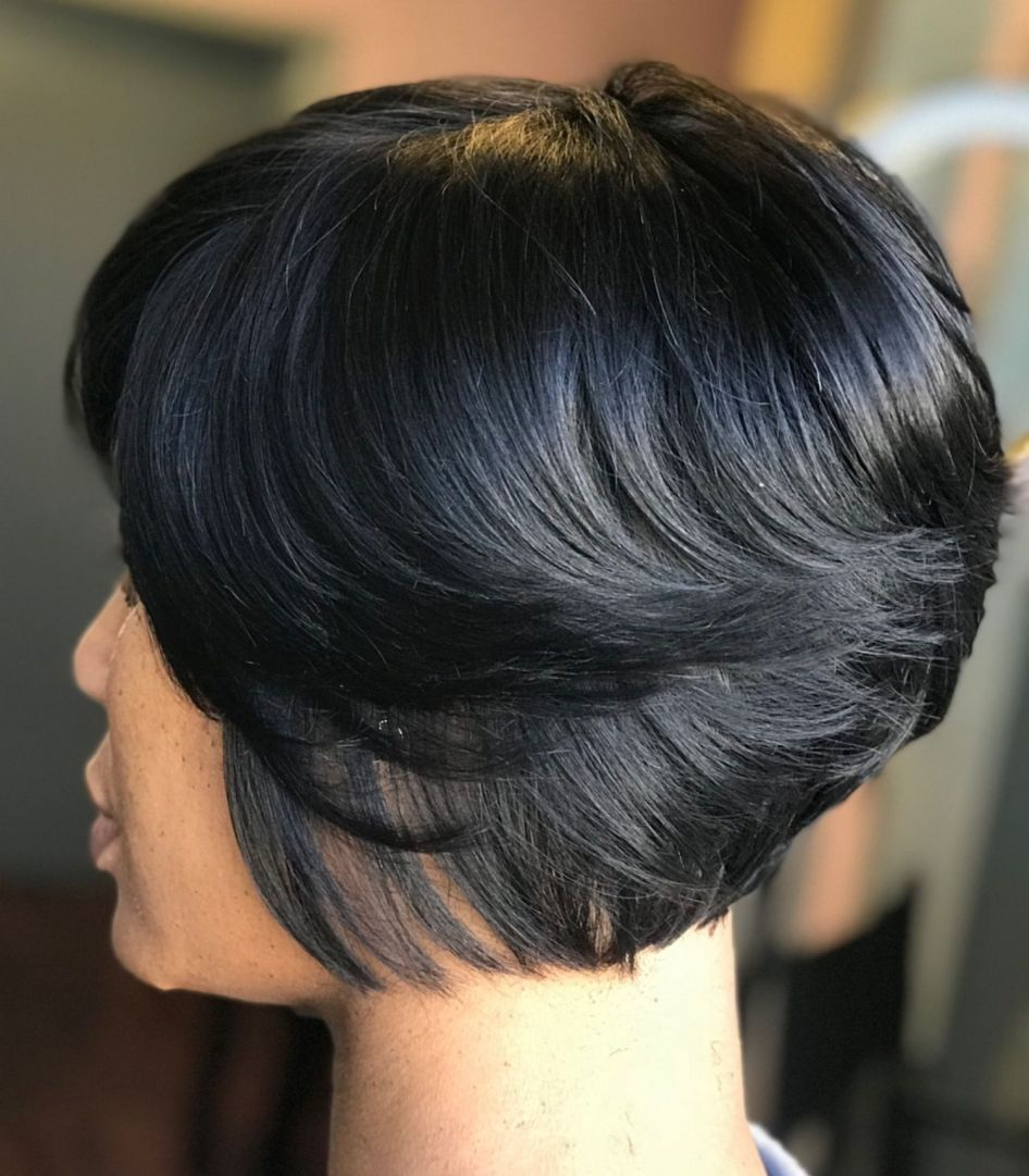 showiest bob haircuts for black women in hairstyles