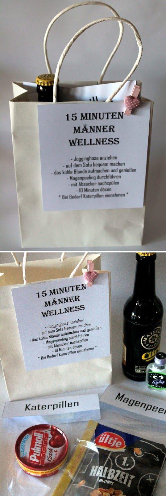 DIY 15 Minuten Mnner Wellness  die perfekte Geschenkidee