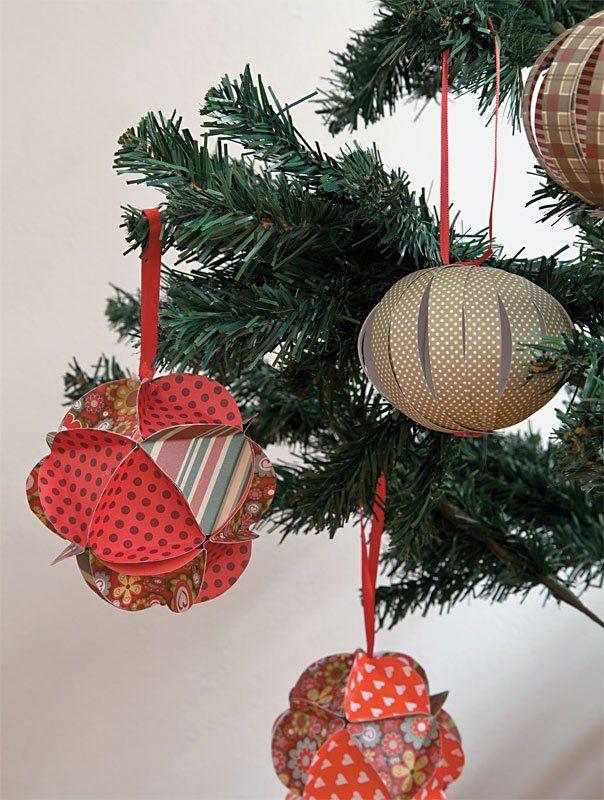 Enfeite de Natal: aprenda a montar uma bola de origami | Avatim Cheiros da Terra