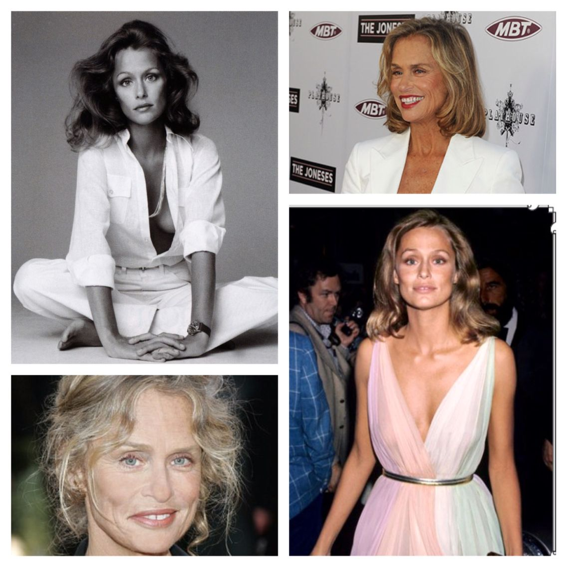 We love Lauren Hutton's clean, fresh style. Her look is ageless. Her style was the best of Studio 54 in the 70's. She continues to be a stunner.