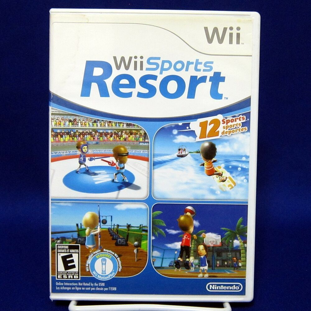 Wii Sports Resort Tested Nintendo 2009 No Manual Nintendo