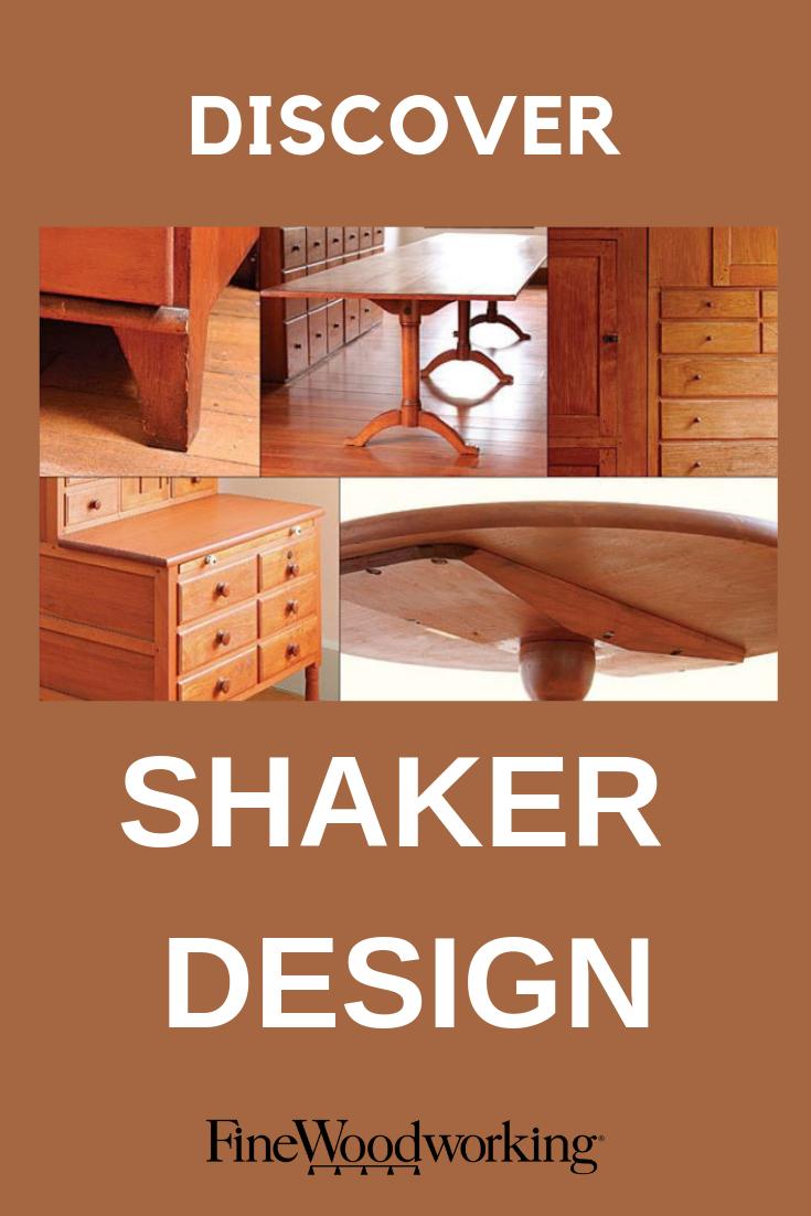 discover shaker design: fine woodworking