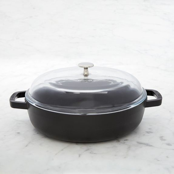 Staub Cast-Iron Universal Pan | Williams-Sonoma