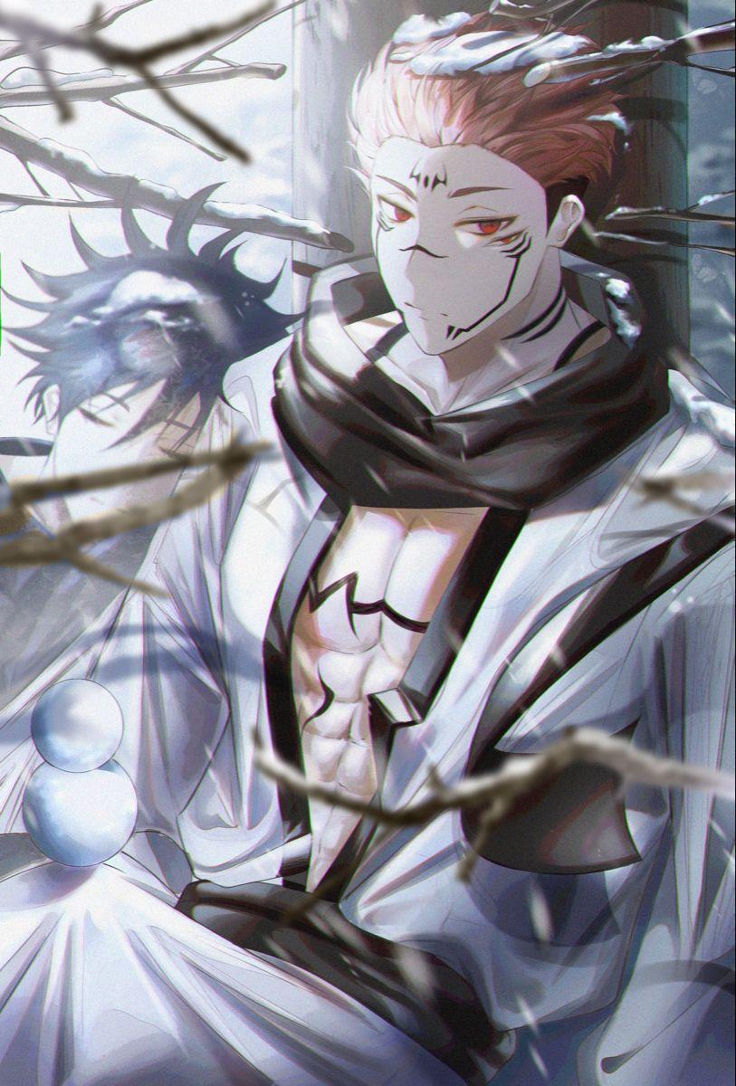 Sukuna In 2021 Jujutsu Drawings Aesthetic Anime