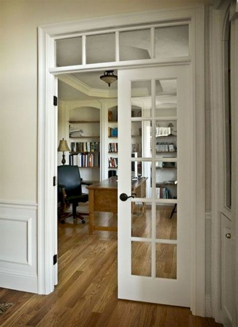 Awesome 48 Fascinating Interior Decoration Ideas For Door More At Https Decoratrend Com 2019 03 31 French Doors Interior Interior Door Styles Doors Interior