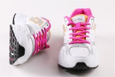 Lotto Kadin Mikrofiber Beyaz Spor Ayakkabi Ayakkabilar Kadin Spor