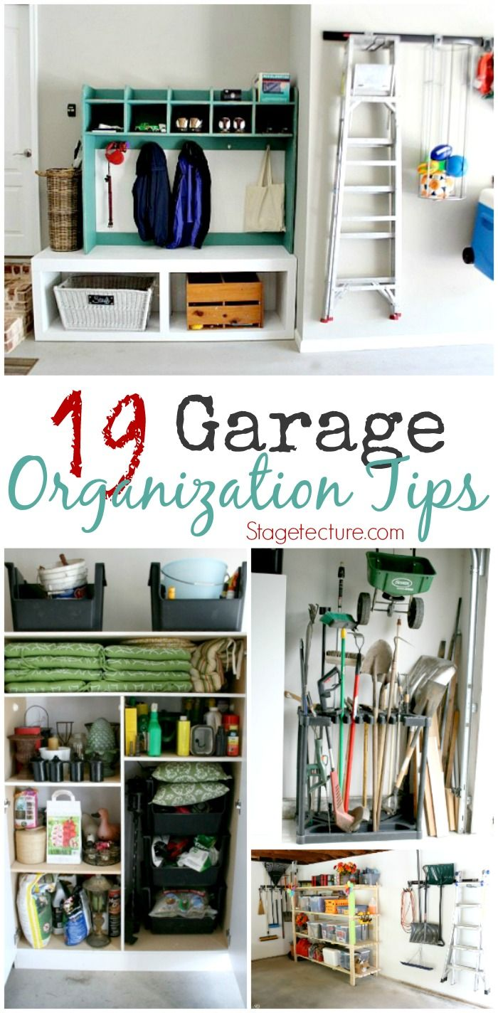 Uncategorized Add Organization Tips 19 garage organization tips to clear the clutter clutter