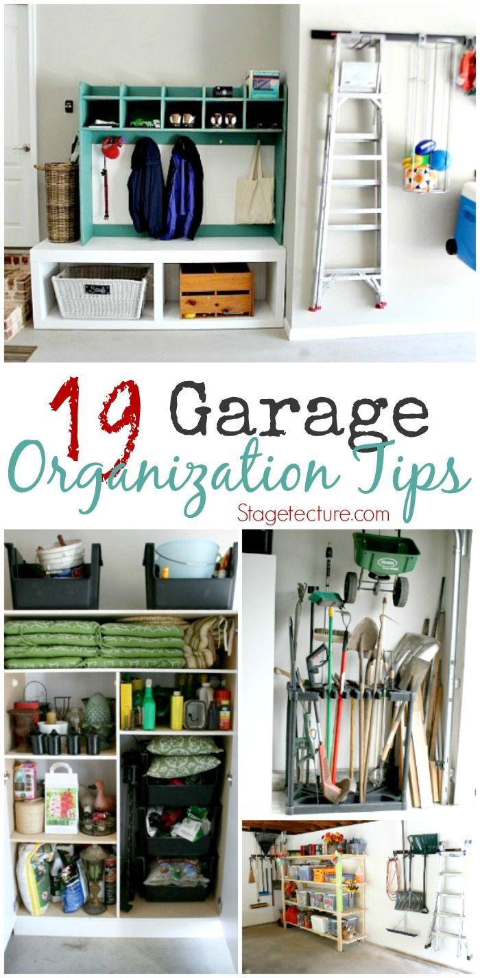 Uncategorized Add Organization Tips 19 garage organization tips to clear the clutter clutter