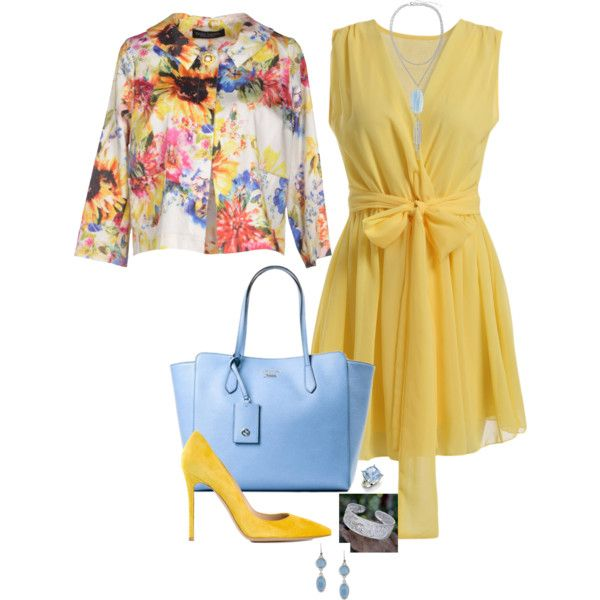 Lemon drop 499 by adgubbe on Polyvore featuring polyvore, fashion, style, Nora Barth, Gianvito Rossi, Gucci, Diamondere, Kendra Scott, NOVICA and Kenneth Cole