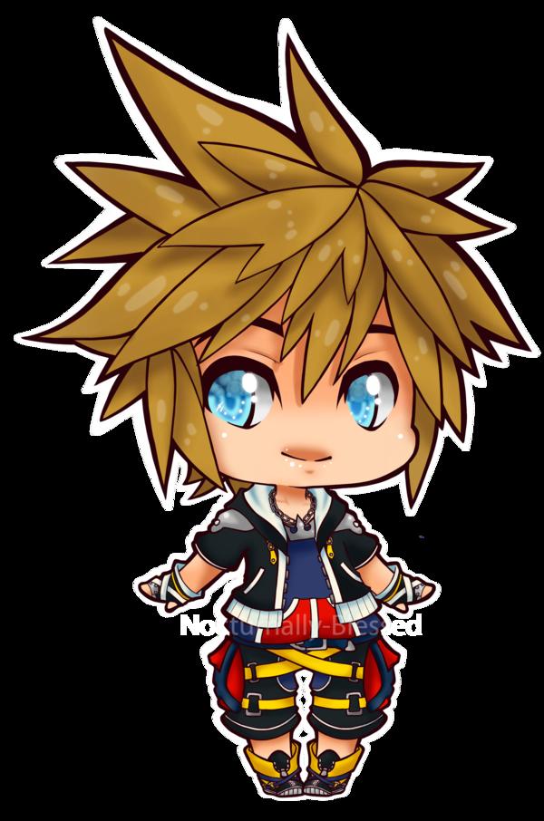 Chibi Sora Chibi Kingdom Hearts Drawing Inspiration
