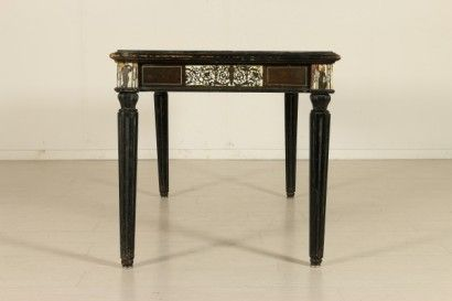 Tavolo Intarsiato ~ Tavolo scrivania con intarsi black and white pinterest