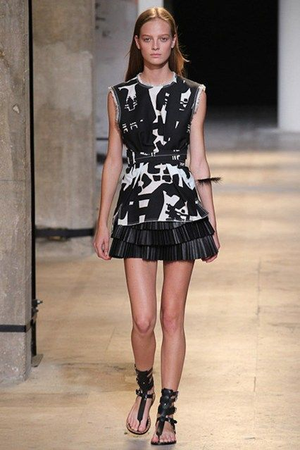 Catwalk photos and all the looks from Isabel Marant Spring/Summer 2015 Ready-To-Wear Paris Fashion Week