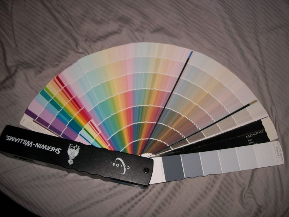 Sherwin Williams Architect Paint Color Fan Deck Sample