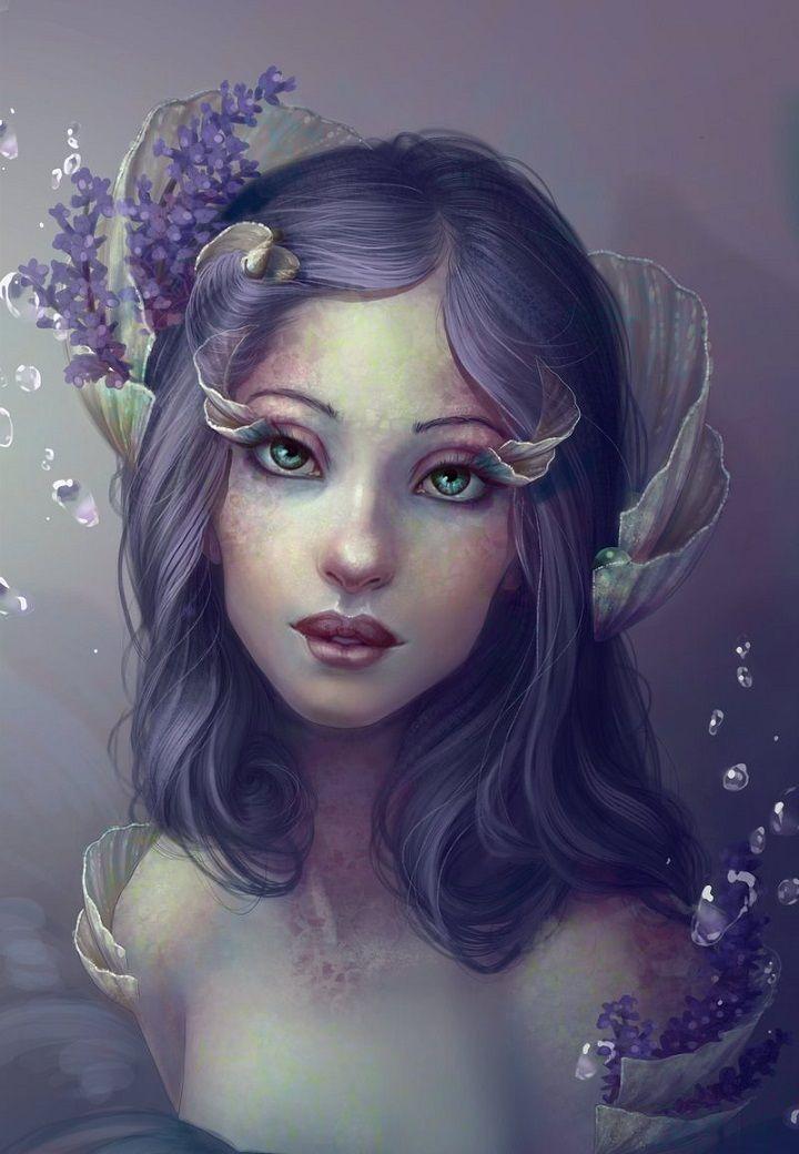 Resultado de imagem para digital drawings of girls