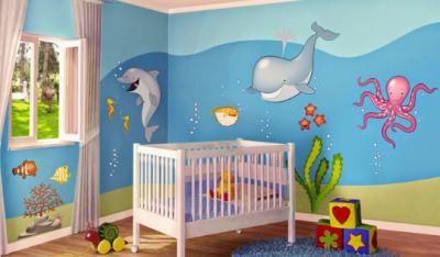 cuartos para bebes varones con plegables | Modo tía | Room, Bedroom ...