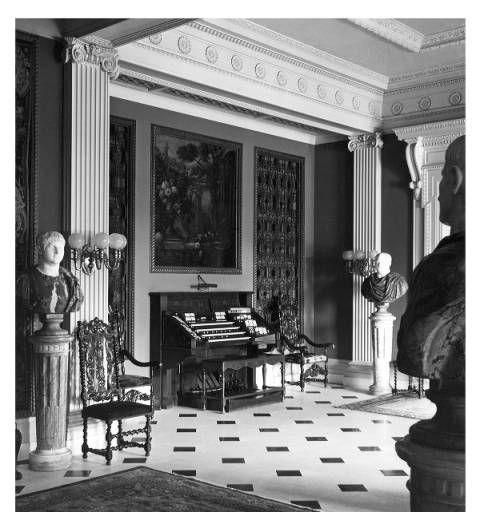 The Organ At Florham Mansion, Covent Station, NJ