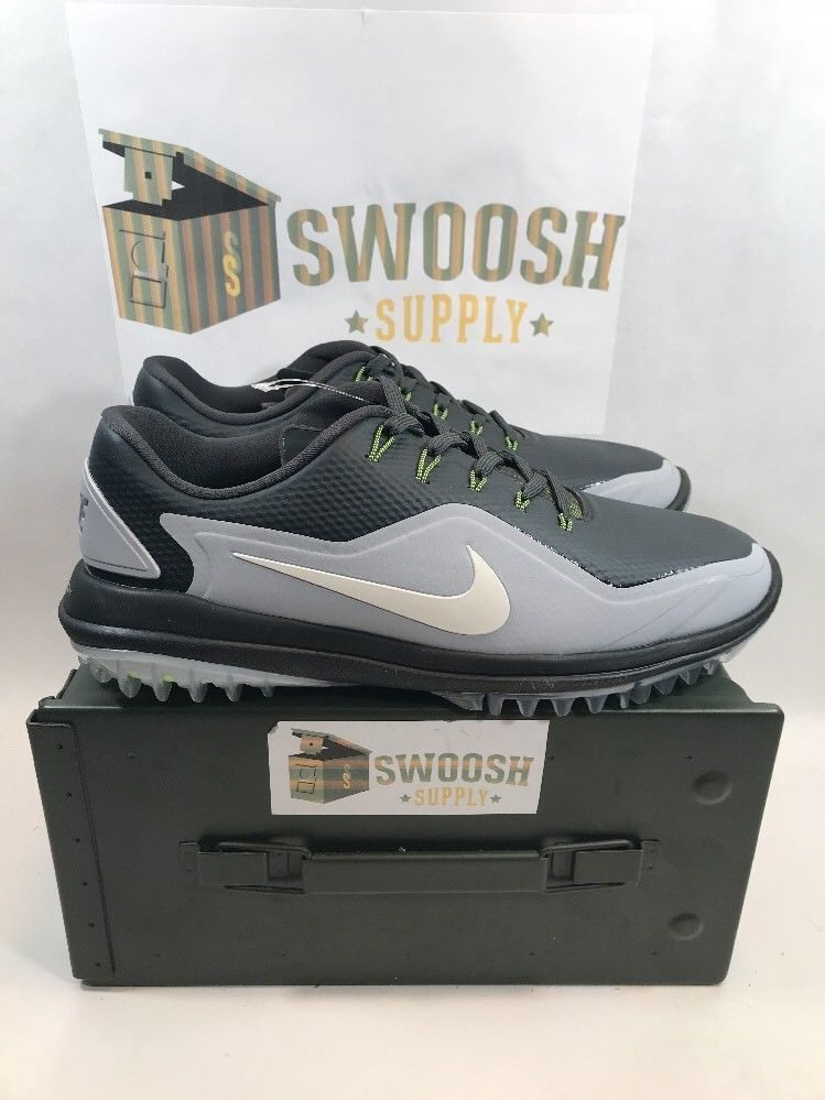 2bf0e3c7e3d4 Nike Lunar Control Vapor 2 Men s Golf Shoes Rory McIlroy Grey 899633-003  Size 9  Nike
