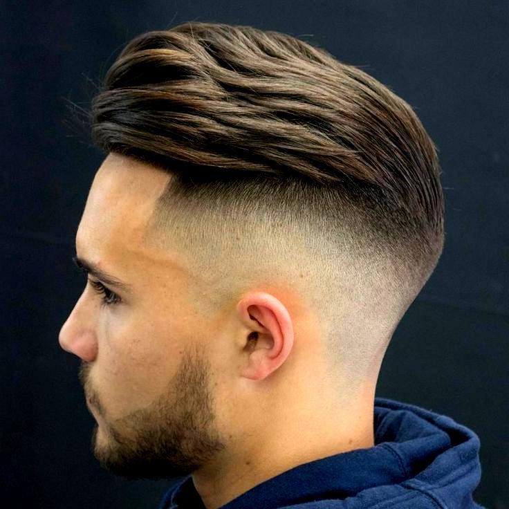 Undercut Mit Ubergang Frisur Manner Modern Nach Hinten Hairstyles Hair Mannerfrisurenkurz Fade Haarschnitte Fur Herren Haarschnitt Ideen Lange Haare Manner