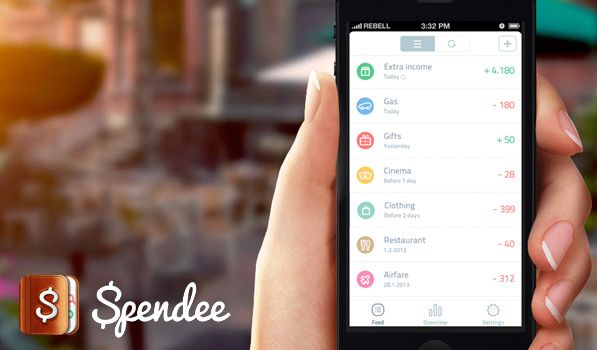 Spendee you would think what is a budget monitoring app