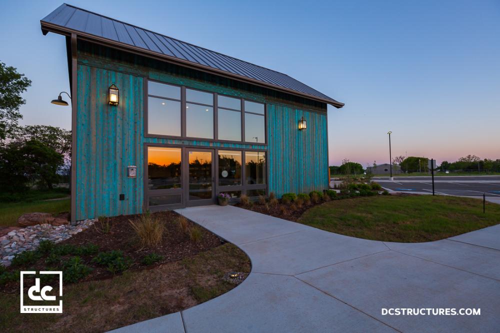 Stillwater Oklahoma Office Barn Kit Dc Structures Barn Style House Prefab Barns Barn House Kits