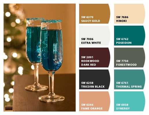 Paint Colors From Chip It! By Sherwin Williams  Love This Palate Living Room:  Burgundy And Cream Dining Room: Teal And Grey. Part 80