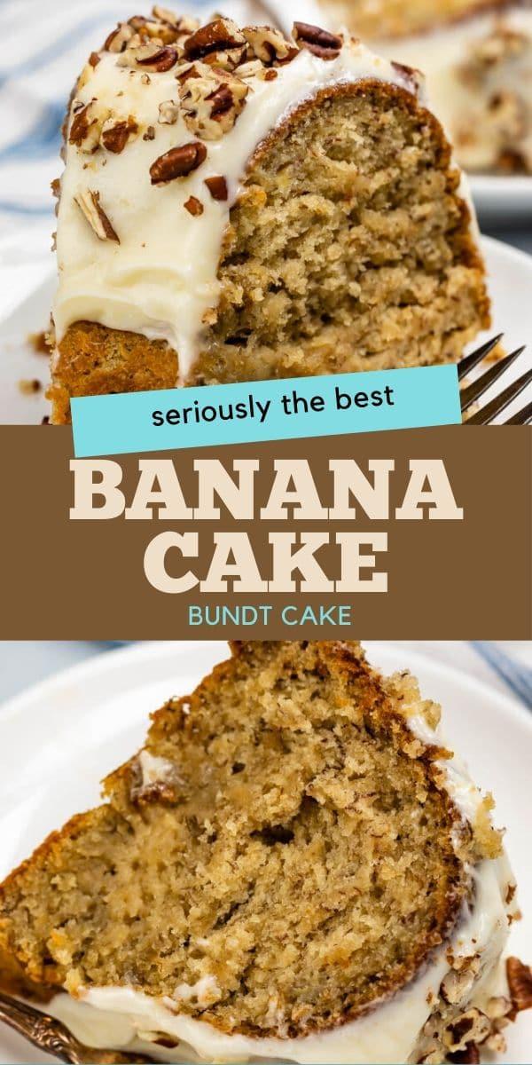 Best Banana Bundt Cake Recipe Crazy For Crust Recipe In 2020 Banana Bundt Cake Banana Cake Recipe Banana Bundt