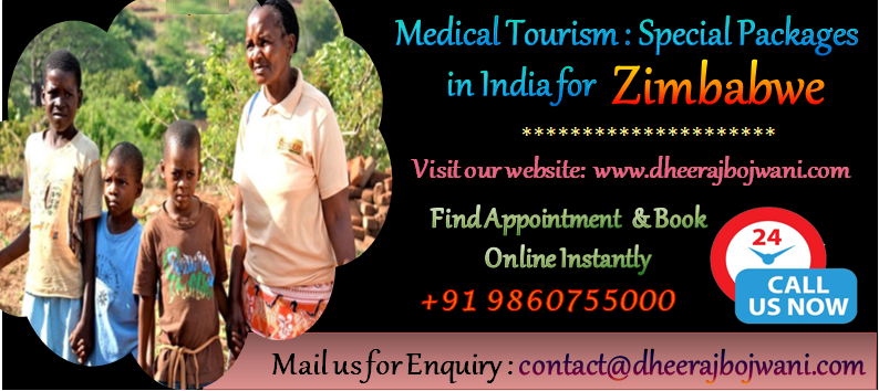 medical tour in india for zimbabwe