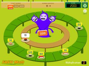 Sushi Monster Math Factor Fun Math Games For Kids Math Sushi Monster