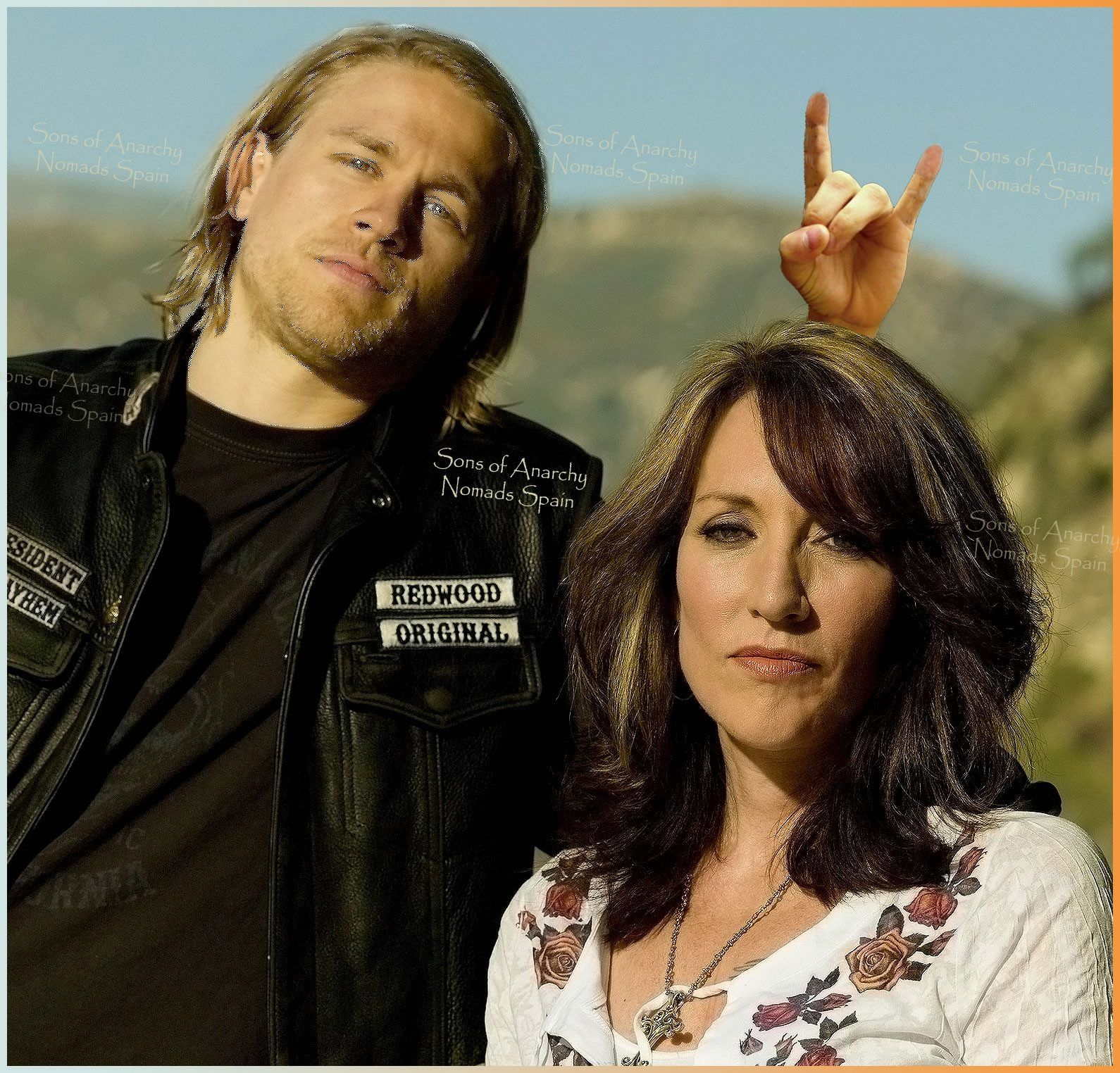 Jax Teller And Mom Gemma Soa Sons Of Anarchy Tommy Flanagan Jax Teller