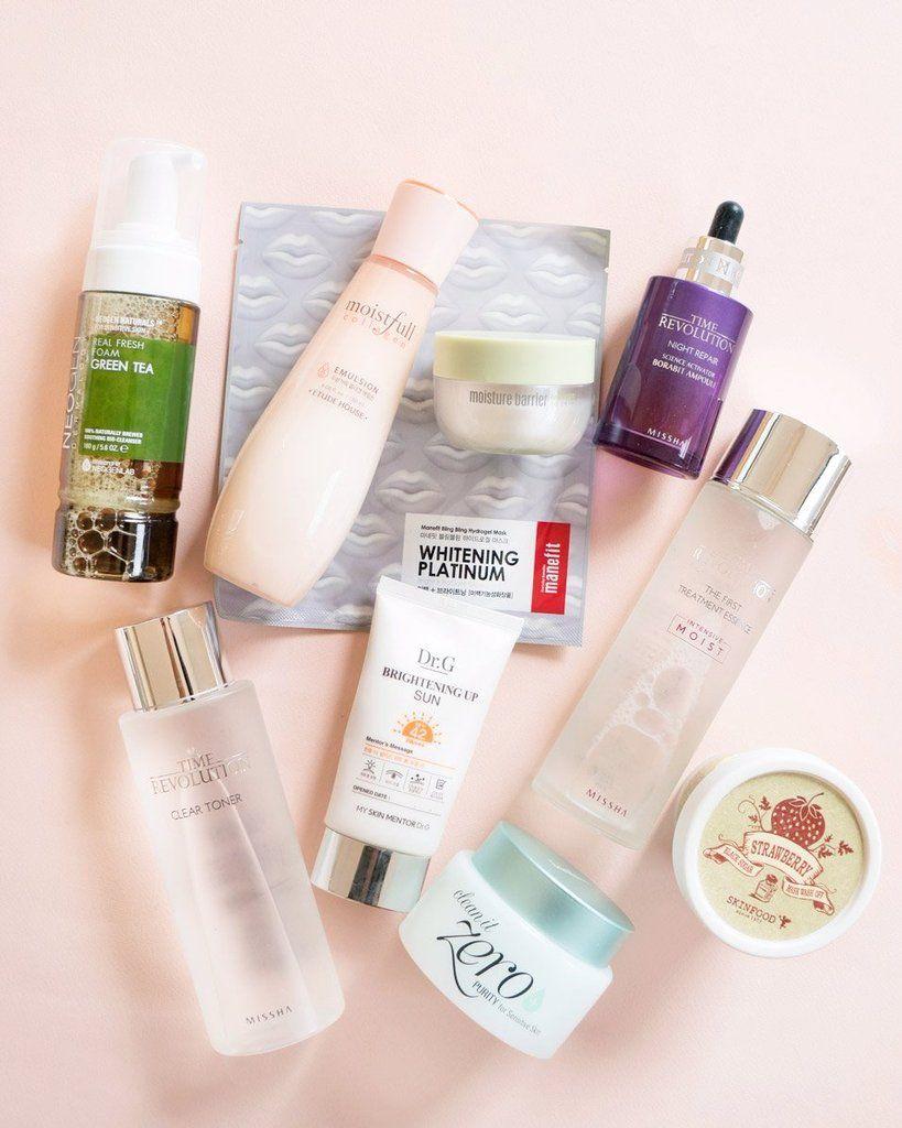 10 Step Korean Skin Care Routine Set Combination Skin Combination Oily Skin Korean 10 Step Skin Care Combination Skin