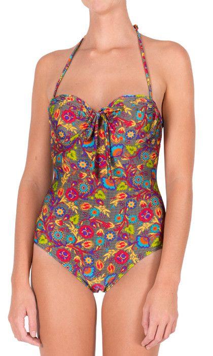 Heaven - Stitch Up - One Piece - Black. H3081SU. Australian Ladies swimwear at Aussie Swim Store. $79.90 AUD