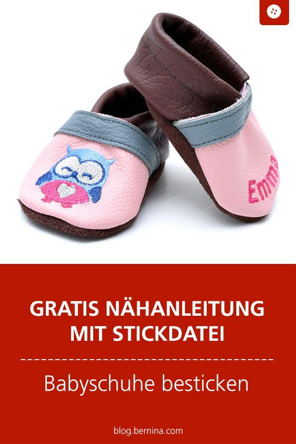 Photo of Besticken Sie Freebook Lederpantoffeln mit der Toolbox »BERNINA Blog