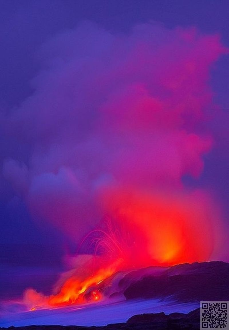 24. #Mount Kilauea, Hawaii - 40 #Pictures Showing the #Awesome Force of #Volcanoes ... → #Travel #Hawaii