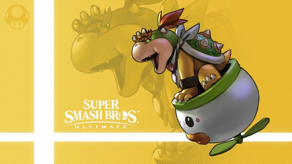 Super Smash Bros Ultimate Bowser Jr By Nin Mario64 Smash Bros Super Smash Bros Bowser