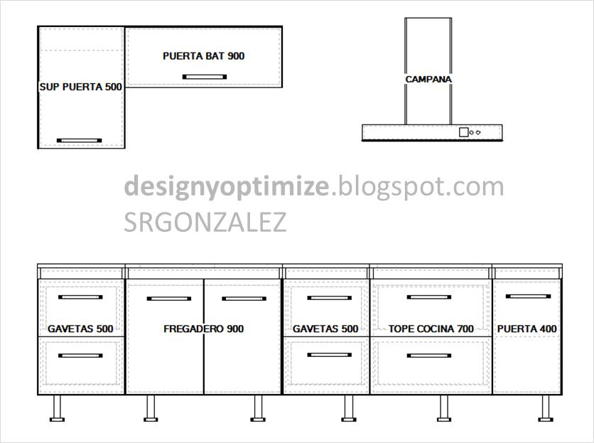 Dise os de muebles armarios cocinas bibliotecas etc for Programa para hacer planos de muebles
