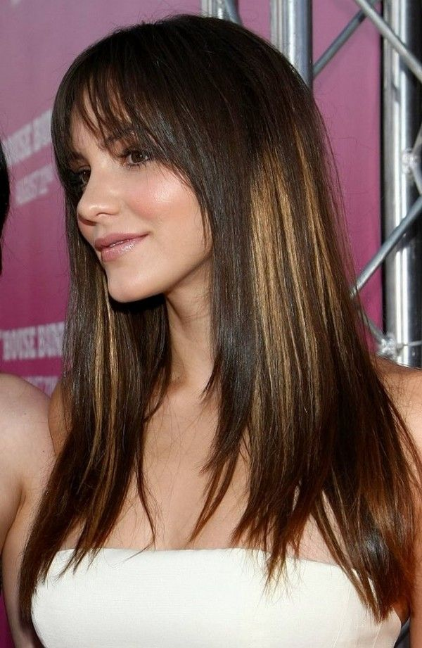 Thin Hair Cuts With Bangs Long Hairstyles With Bangs Are An Easy