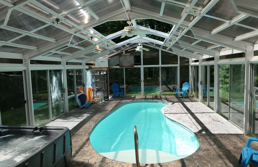 Private Indoor Pool With A Beautiful House Attached Ludlow Indoor Pool Beautiful Homes Pool