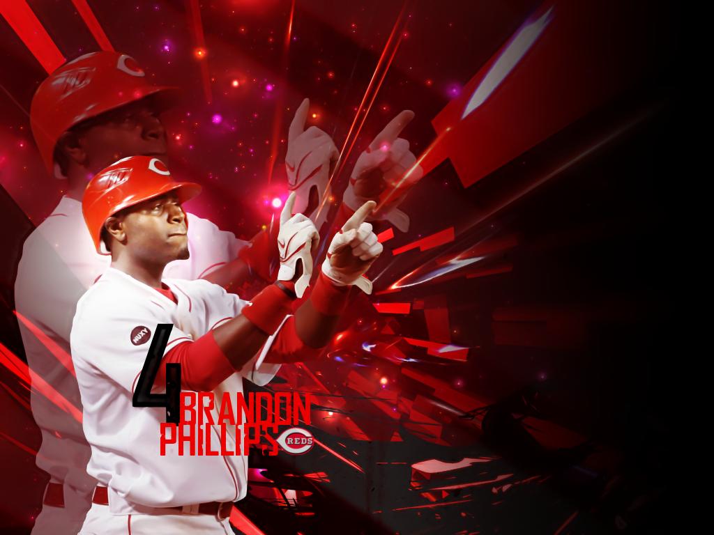 BrandonPhillips Cincinnati Reds Baseball HD Wallpaper
