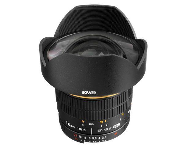 Bower 14mm f2.8 Lens